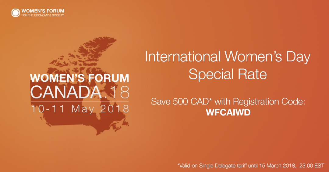 Women's Forum to Host First-Ever Canadian Summit